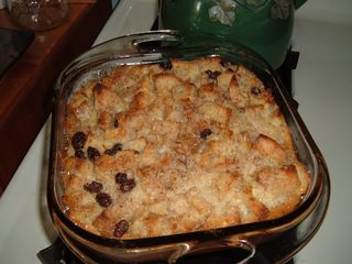 Double Batch of Bread Pudding
